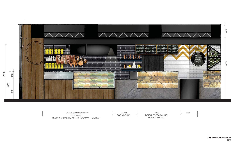 Rozzi's Italian Canteen by Mim Design // Melbourne