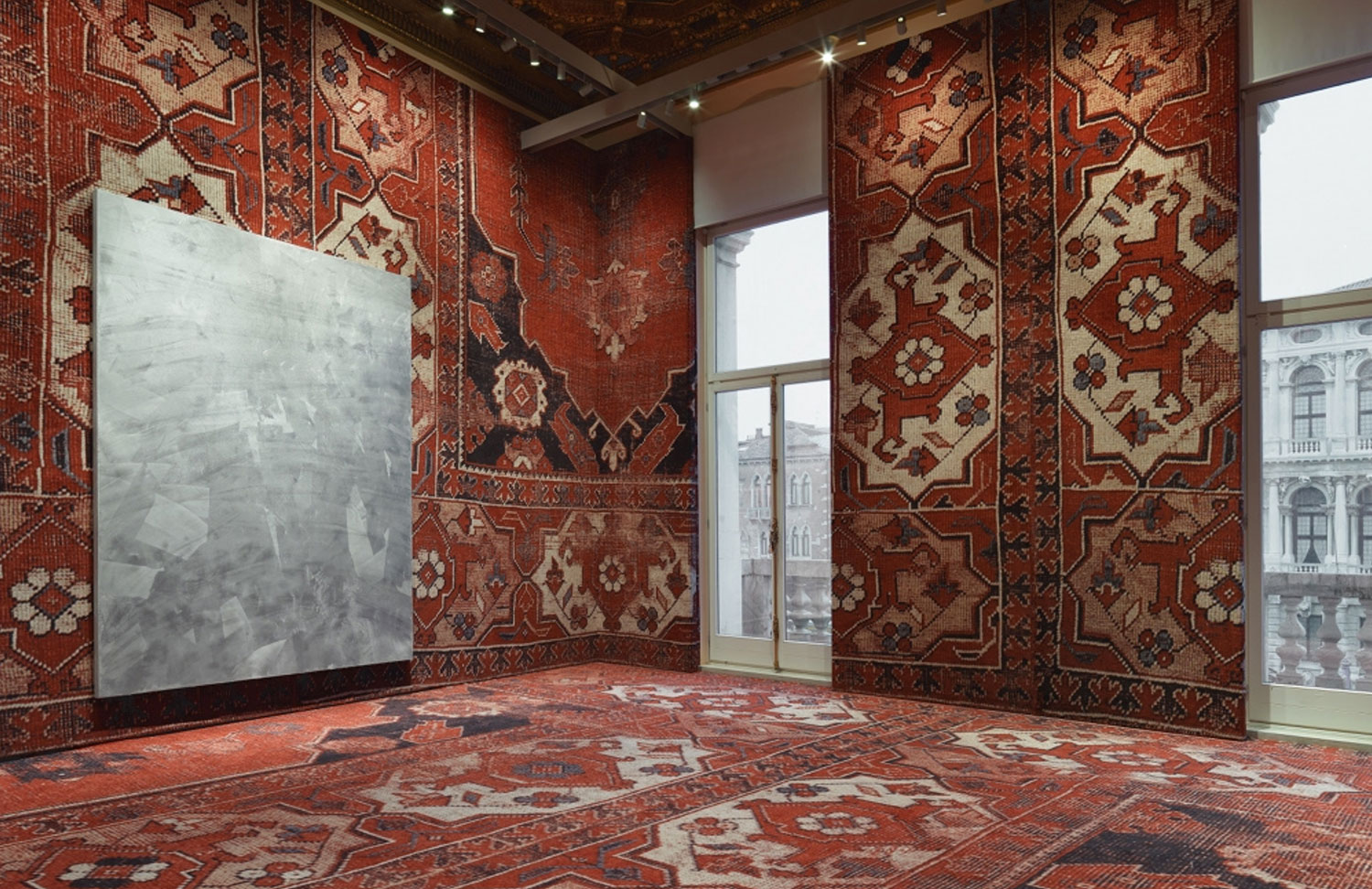 Rudolf Stingel at the Palazzo Grassi Venice Biennale 2013 | Yellowtrace.