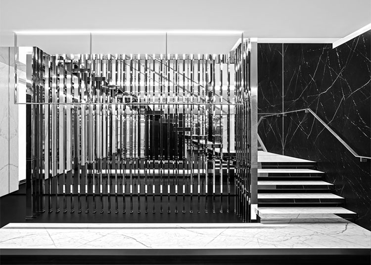 Saint Laurent opens new flagship store in Paris   Yellowtrace.