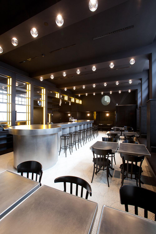 Volkshaus Basel Bar and Brasserie by Herzog & de Meuron   Yellowtrace.