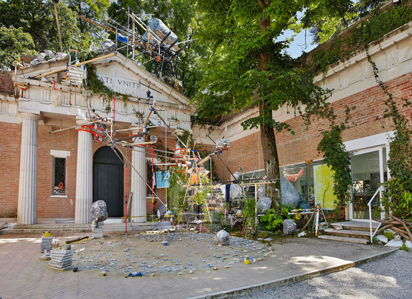 Sarah Sze for US Pavilion Venice Biennale 2013 | Yellowtrace.