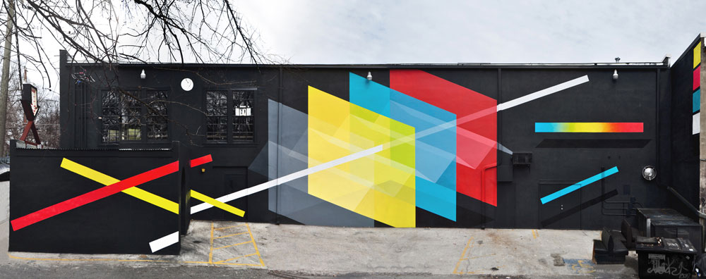 Exterior Mural by Christopher Derek Bruno | Yellowtrace.