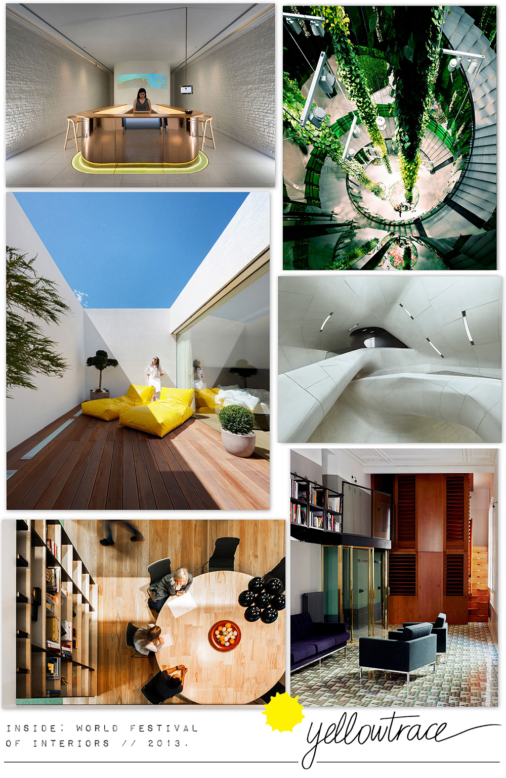 INSIDE World Festival of Interiors Shortlist 2013 | Yellowtrace.