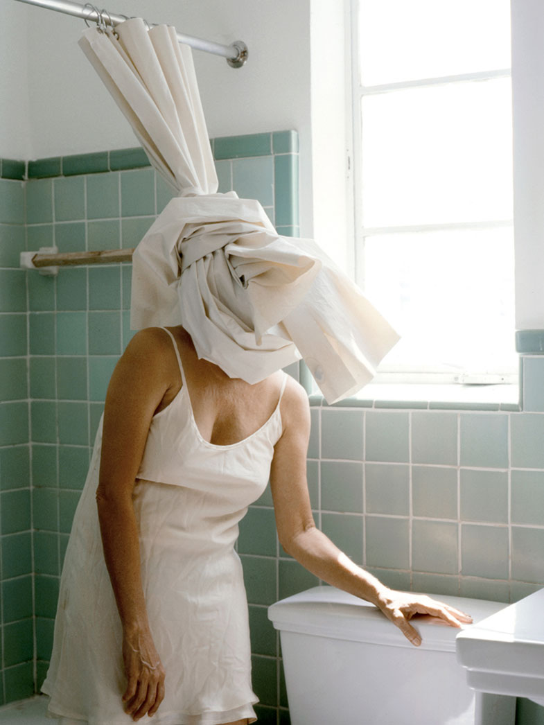 Shower Curtain, 2010 by Lee Materazzi | Yellowtrace.