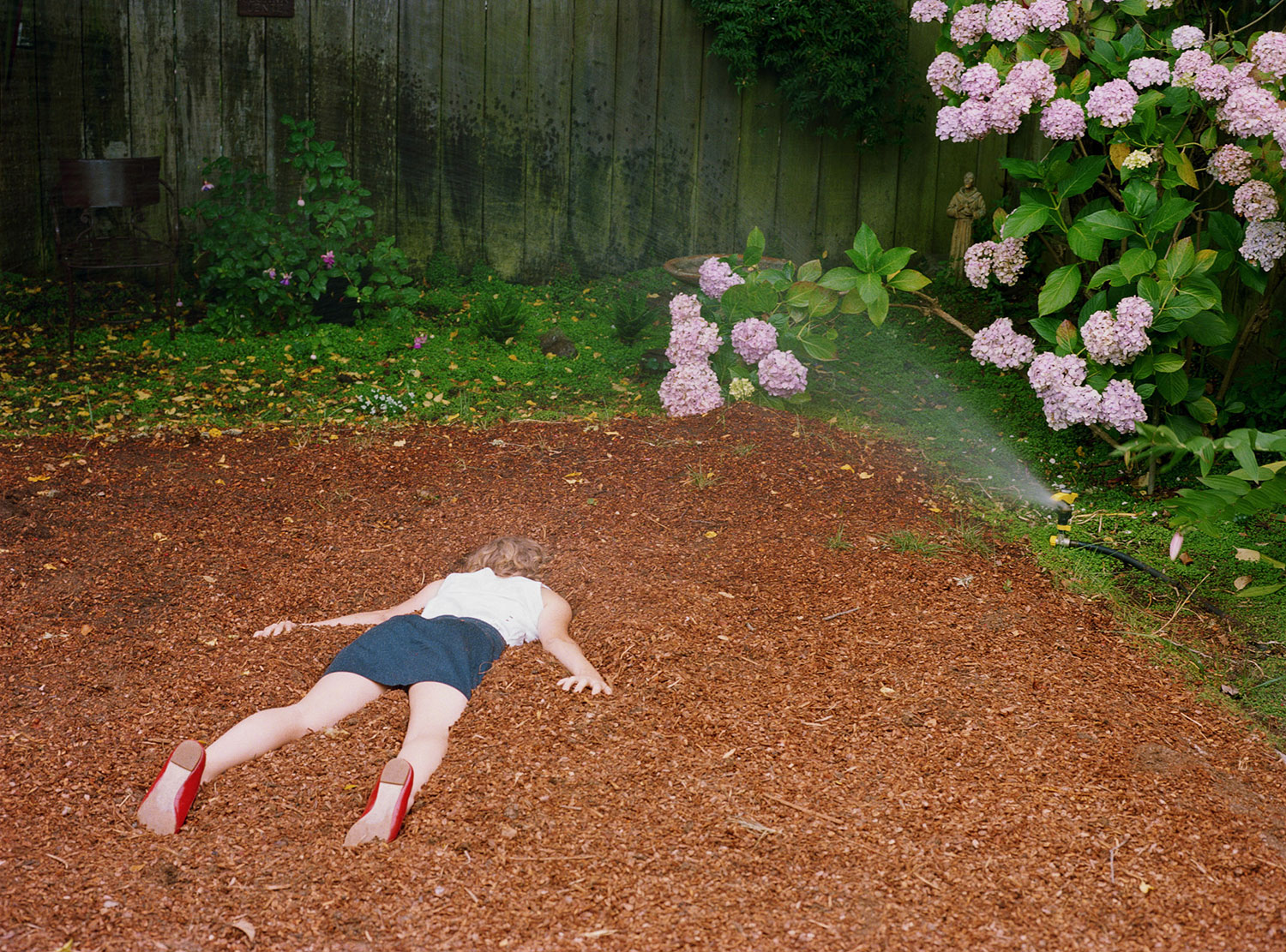 Level with the Backyard, 2011 by Lee Materazzi | Yellowtrace.