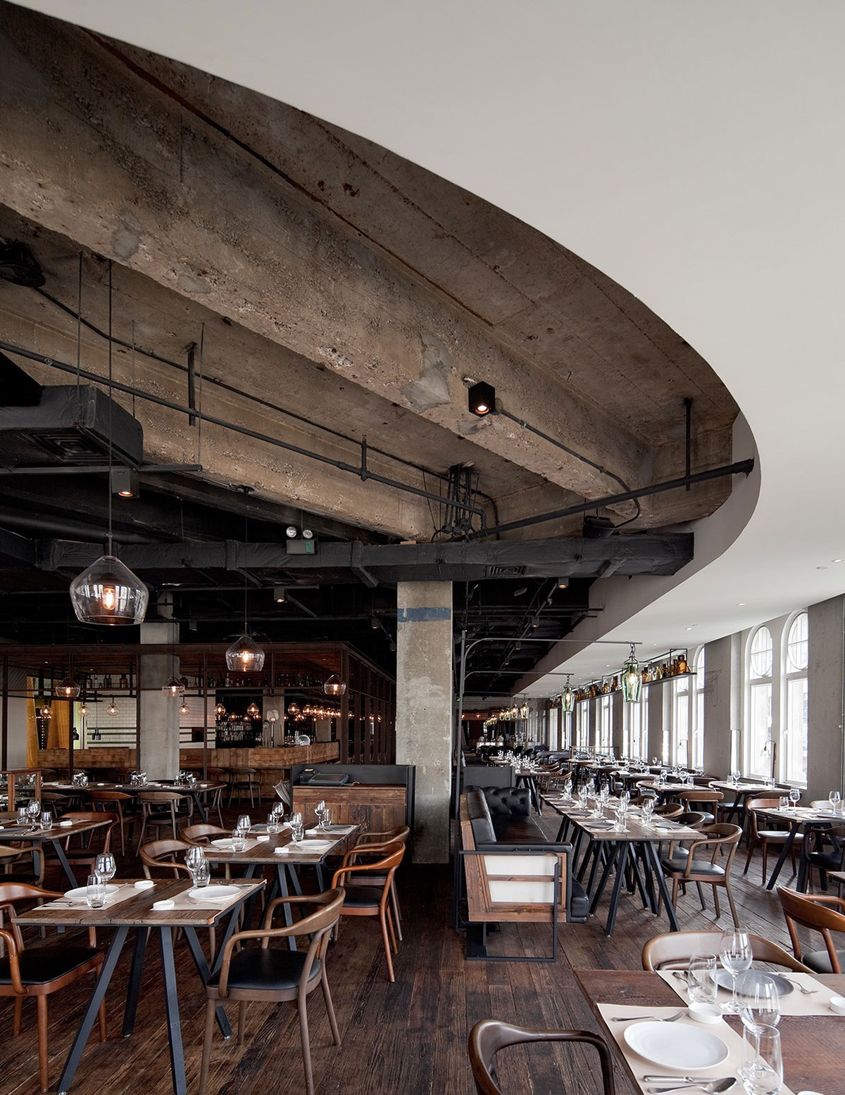 Mercato Restaurant by Neri&Hu // Shanghai, China.