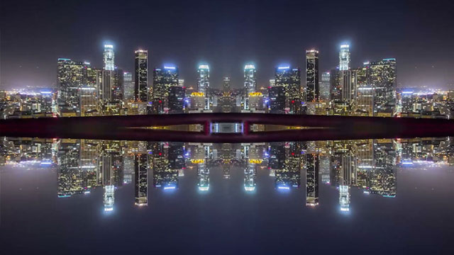 Mirror City Timelapse by Michael Shainblum [TV].