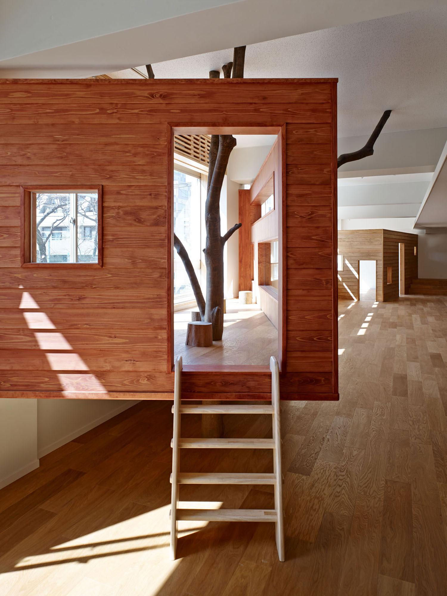 Mokumoku Kindergarten in Tokyo, Japan by 16A Inc Architects   Yellowtrace.