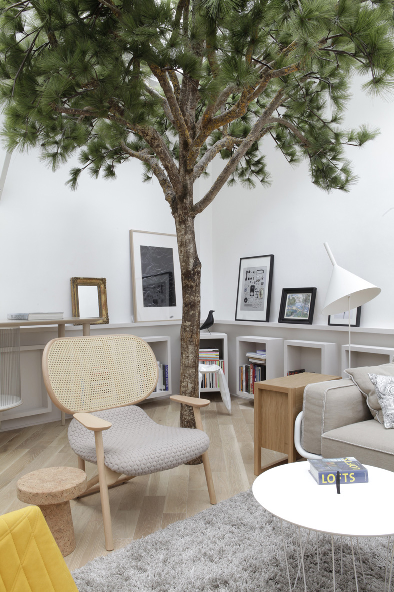So hot right now trees in interior design yellowtrace - Deco interieur nature ...