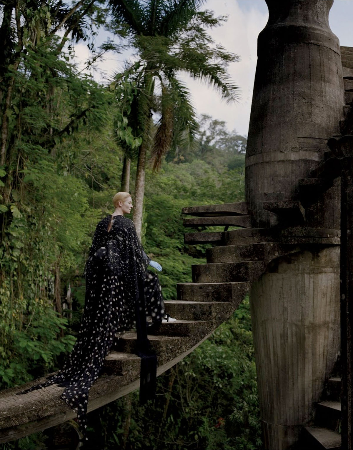 'Stranger Than Paradise' editorial. Tilda Swinton and Tim Walker for W Magazine | Yellowtrace.
