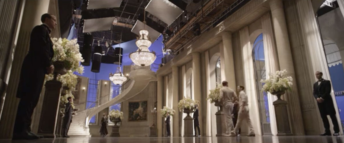 The Great Gatsby Visual Effects Before After