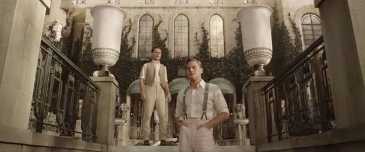 a comparison of the two scenes in the great gatsby a novel by f scott fitzgerald Great gatsby lit study play what did f scott fitzgerald achieve by using nick's point of view compare the homes of nick, gatsby, and the buchanans.