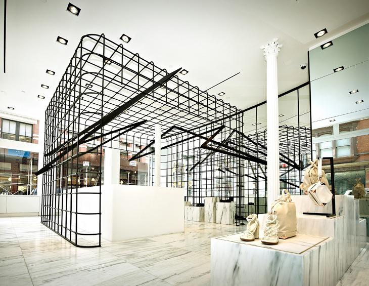 Alexander Wang Flagship Store Soho | Yellowtrace.