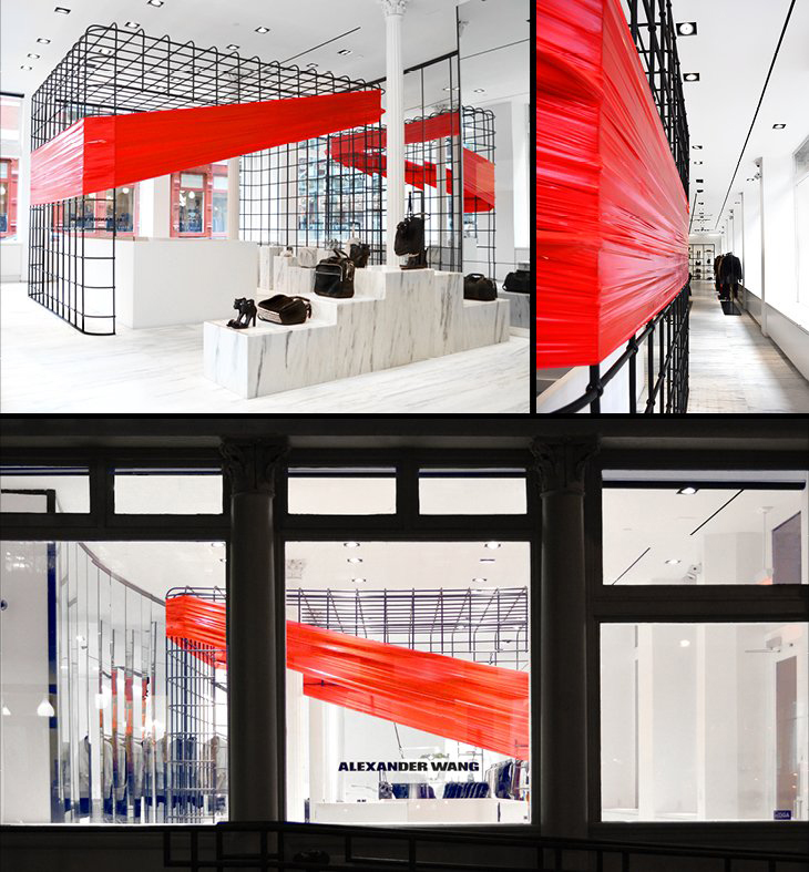 Alexander Wang Soho Flagship Store  |  Yellowtrace