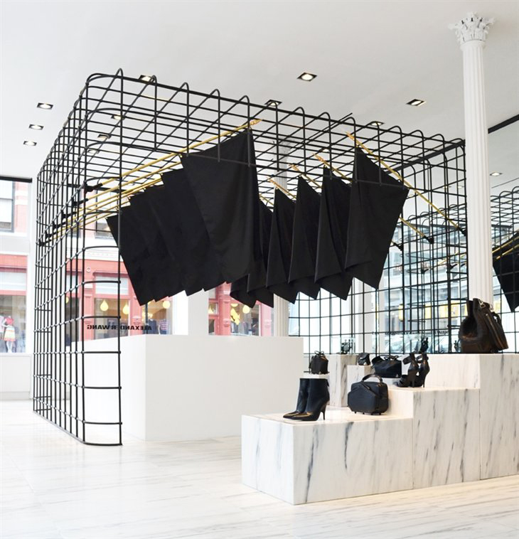 "Alexander Wang's Uniqlo line is out today. I've been excited about this line because it's probably the only chance I'll have to say, ""My dress? Oh, it's an Alexander Wang."" (Most."