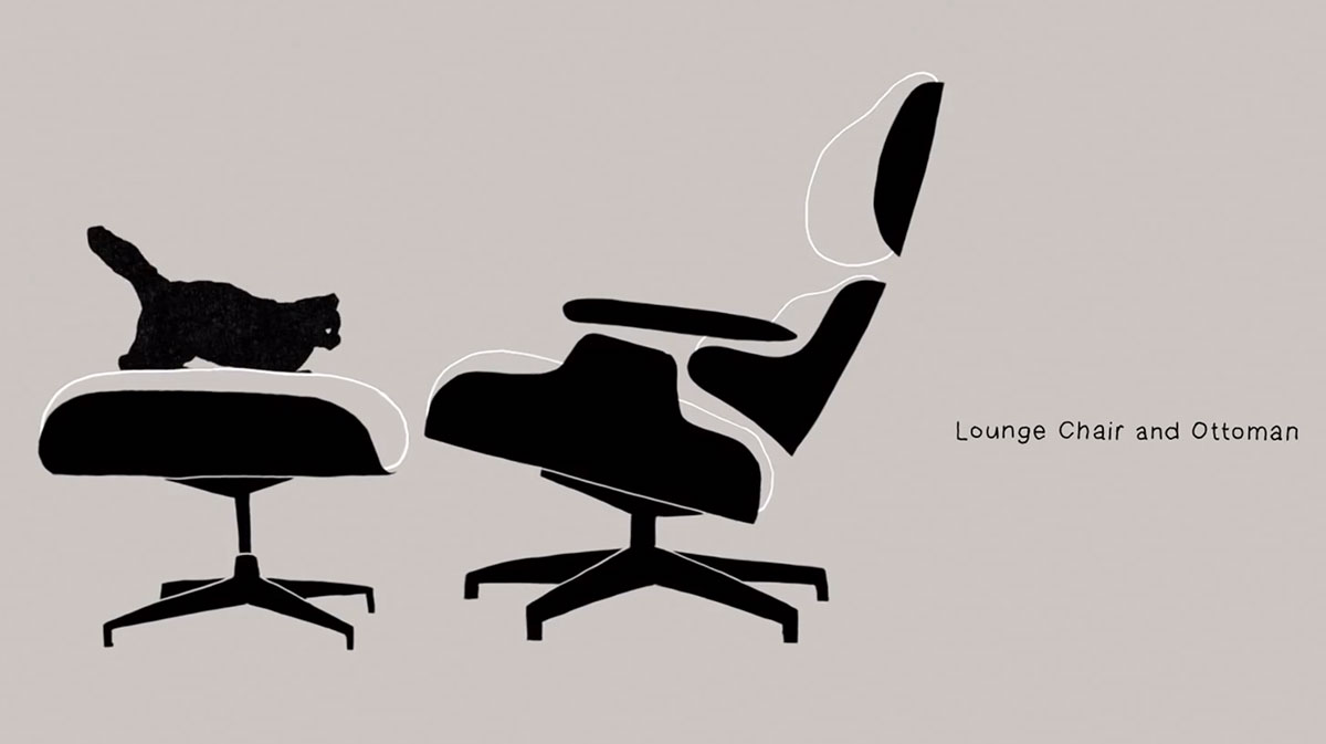 Eames Loung Chair | Yellowtrace.
