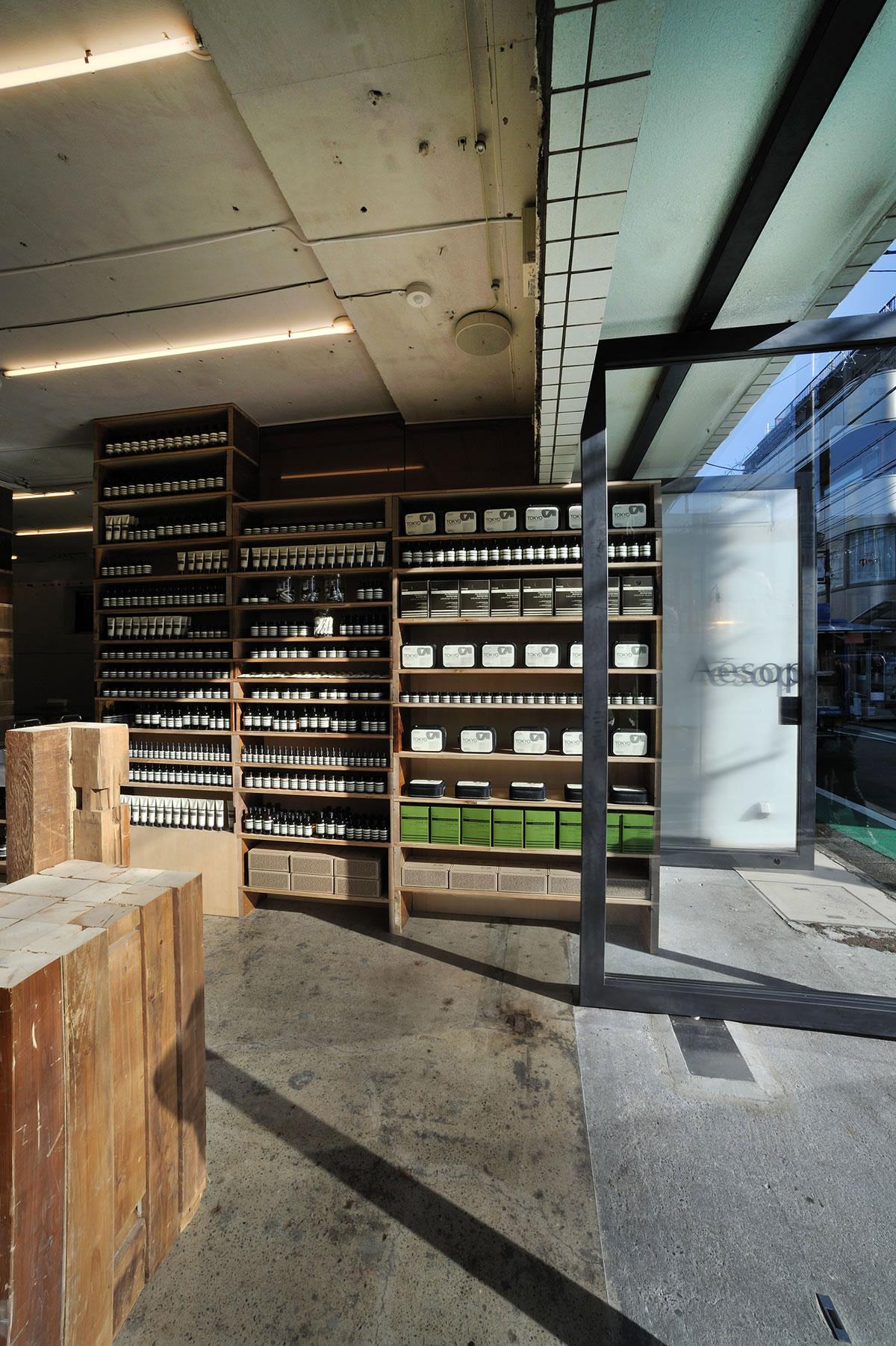 Aesop Aoyama by Jo Nagasaka/Schemata Architects | Yellowtrace.