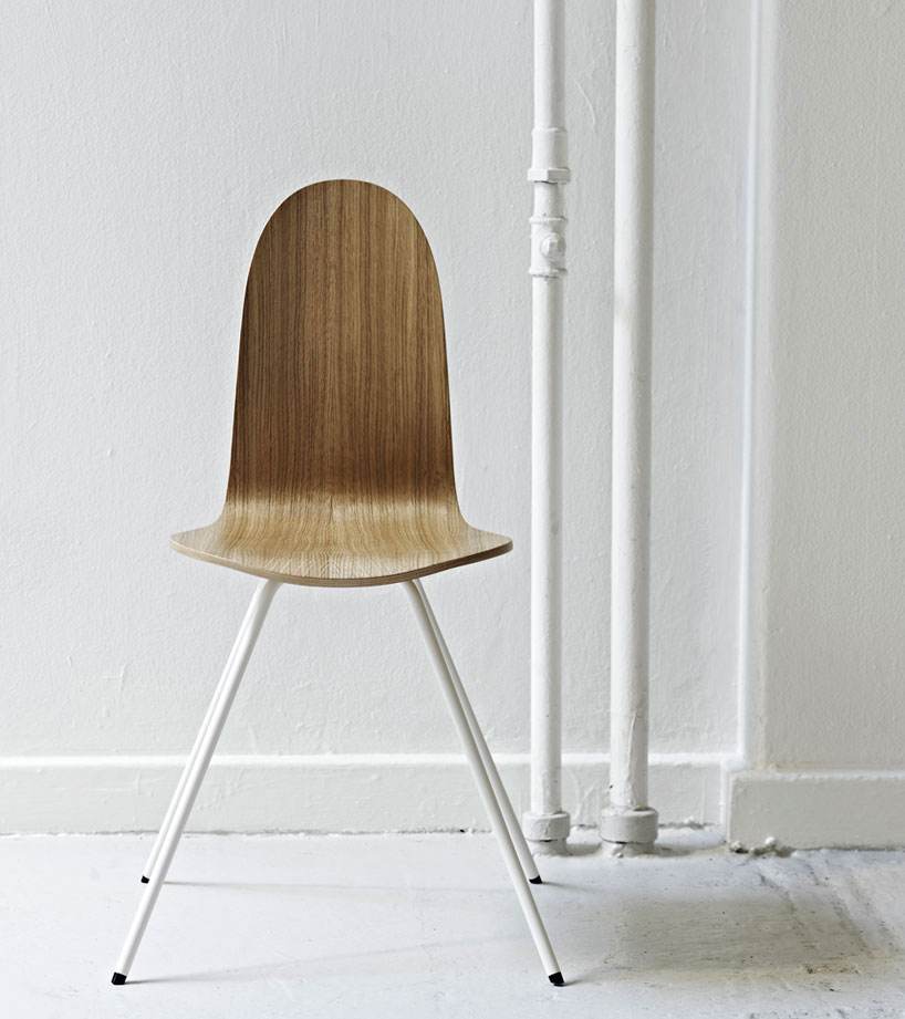 Arne Jacobsen Tongue Chair reissued by HOWE | Yellowtrace.
