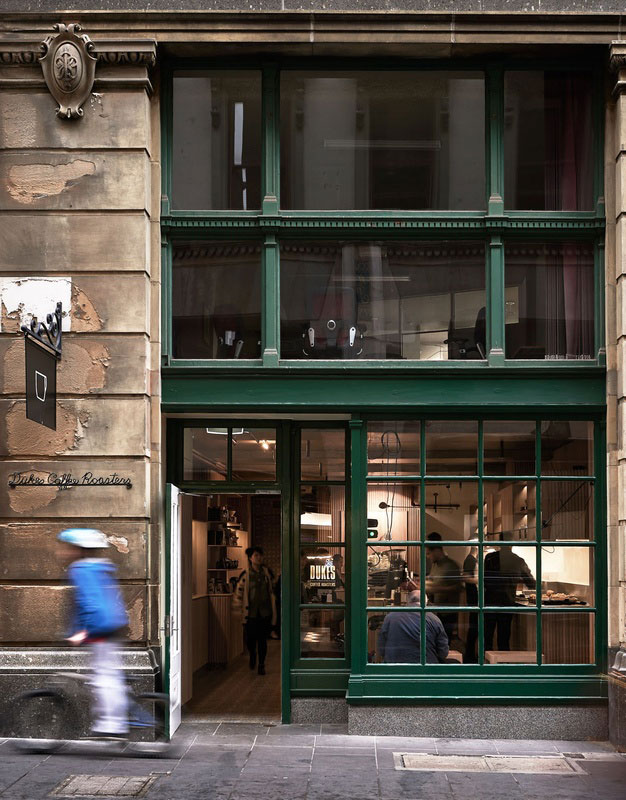 Dukes Flinders Lane by Chris Connell Design | Yellowtrace.