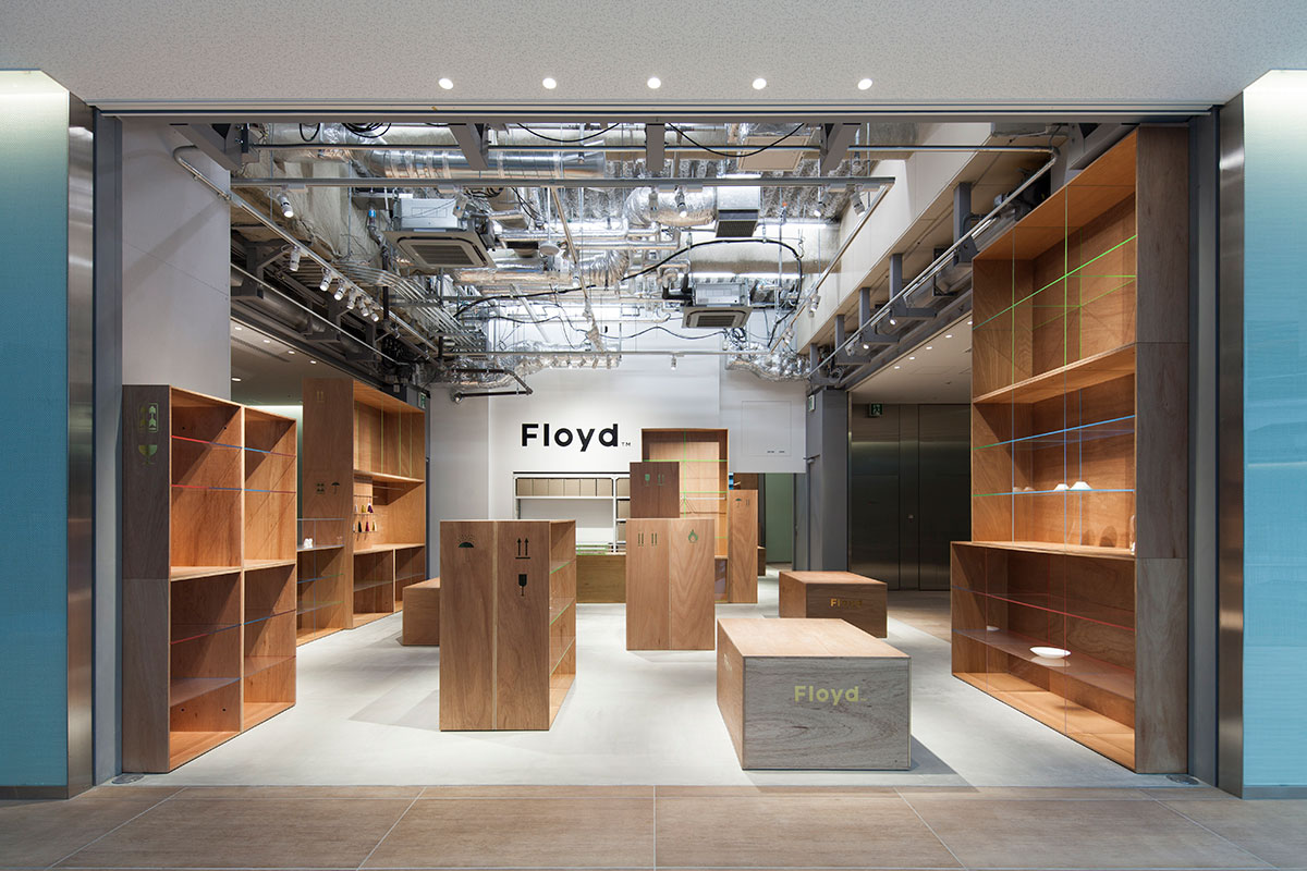 Floyd Kitte Marunouchi in Tokyo by Jo Nagasaka/Schemata Architects ...