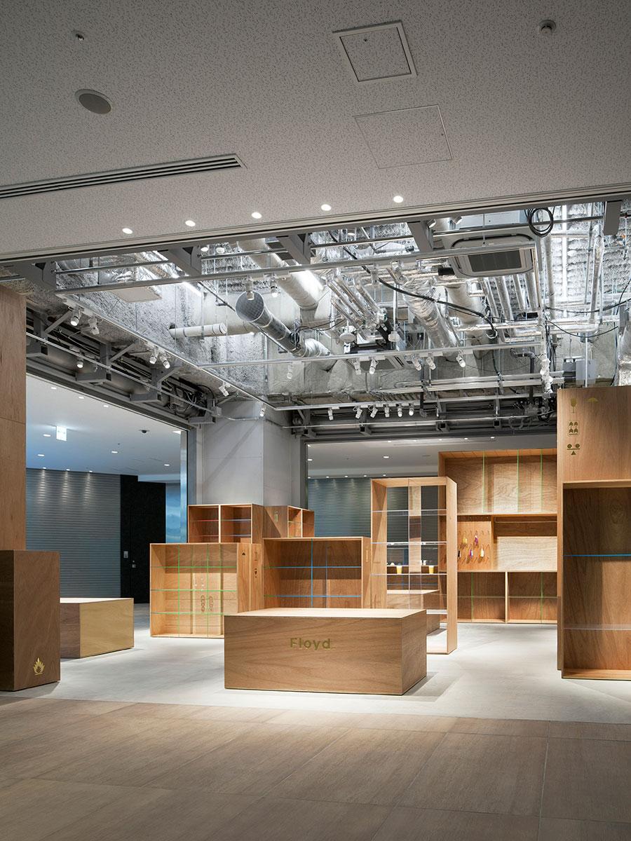 Floyd Kitte Marunouchi in Tokyo by Jo Nagasaka/Schemata Architects | Yellowtrace.