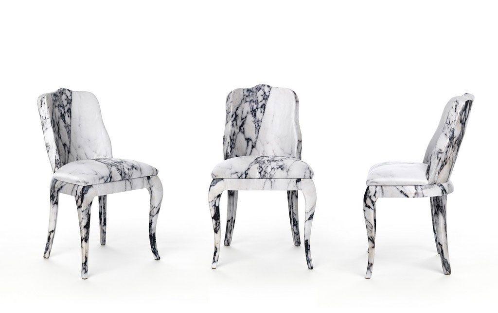 Luigina chair by Maurizio Galante and Tal Lancman for Cerruti Baleri.