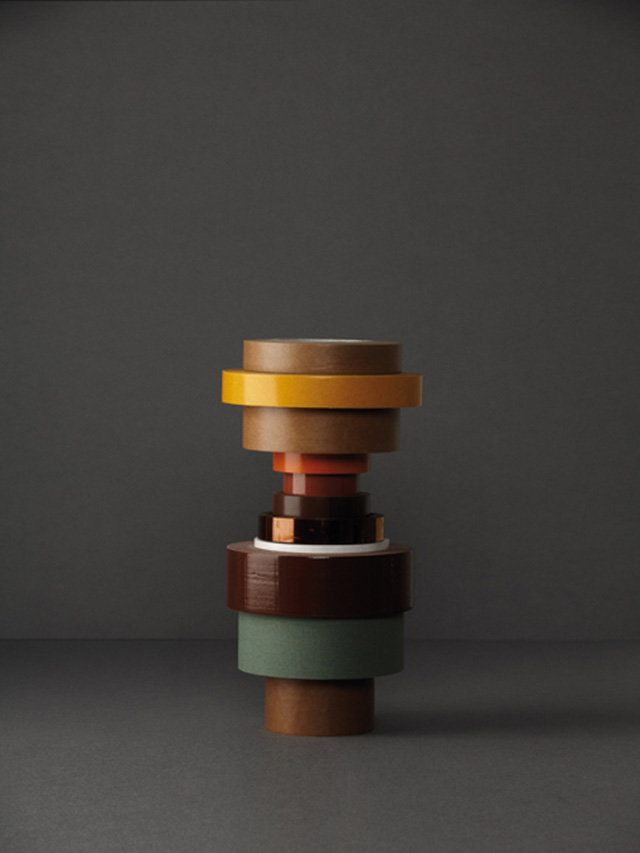 Tape Totems | Yellowtrace.