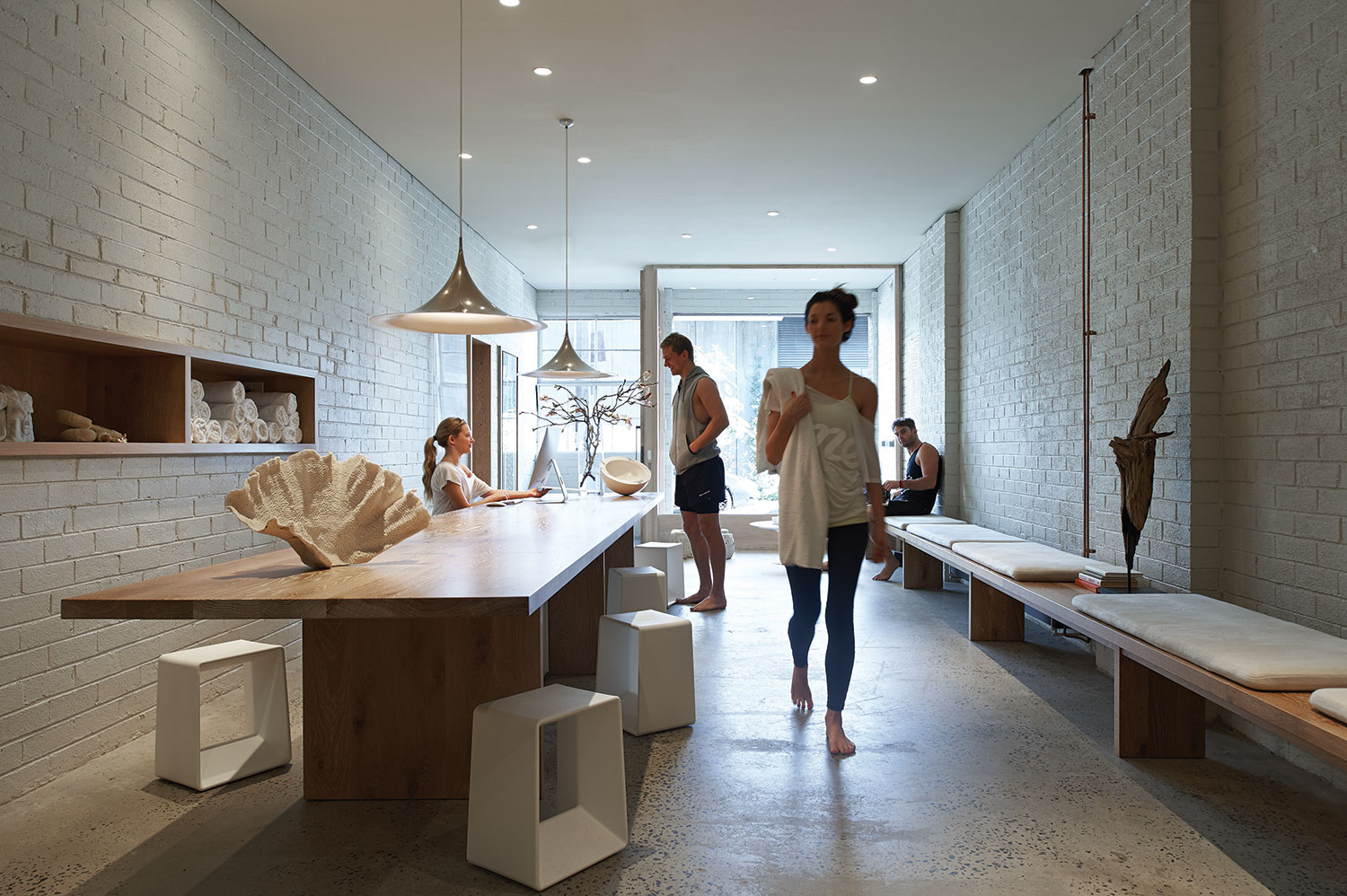 One Hot Yoga in Melbourne by Robert Mills Architects | Yellowtrace.