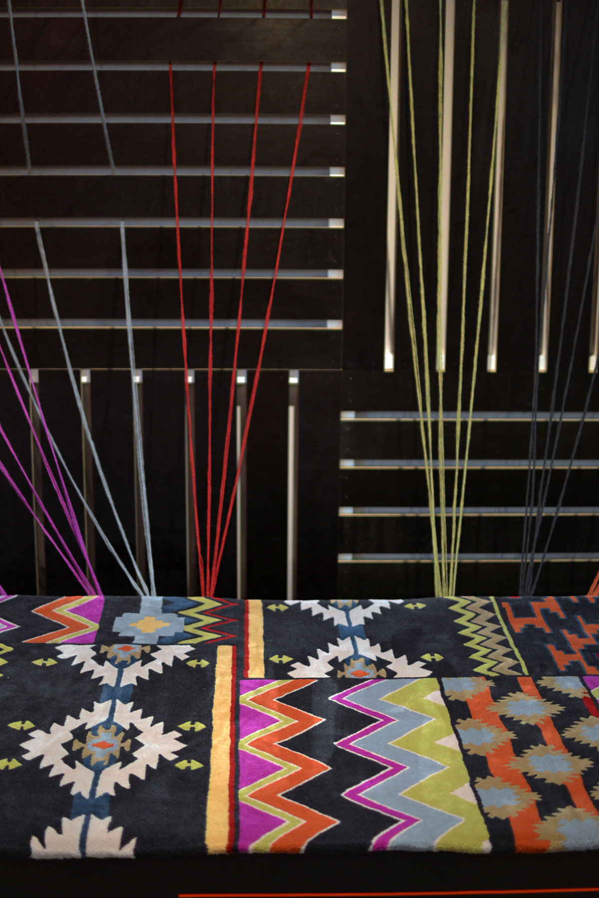 Arthur G and Designer Rugs at Sydney Indesign  |  Yellowtrace