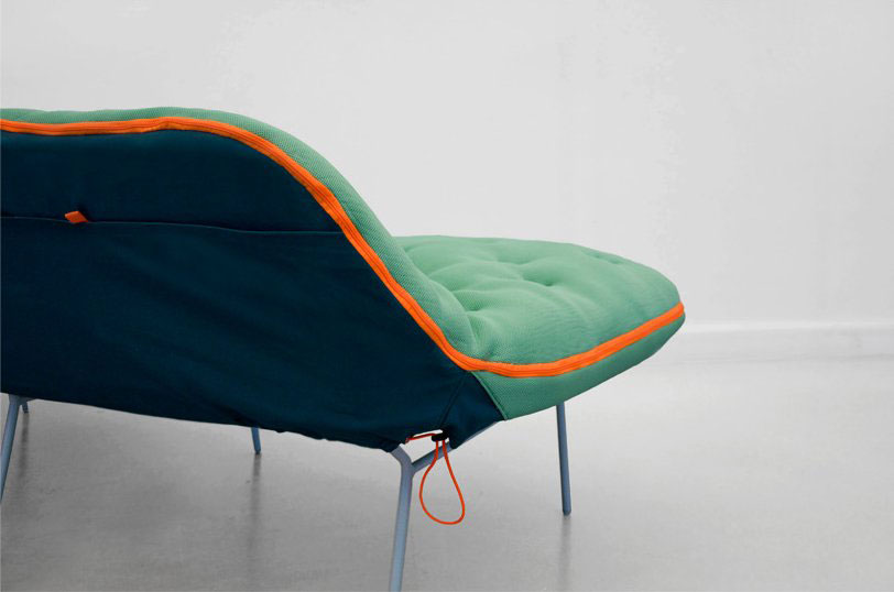 Camp Sofa Detail | Yellowtrace.