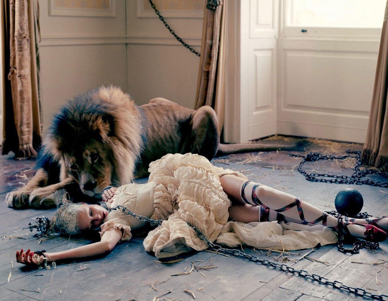 Dolce&Gabbana Alta Moda, Love Magazine FW13 | Yellowtrace.