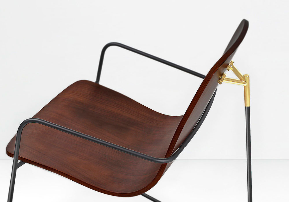 Wang Lounge Chair by MUNKII Singapore | Yellowtrace.