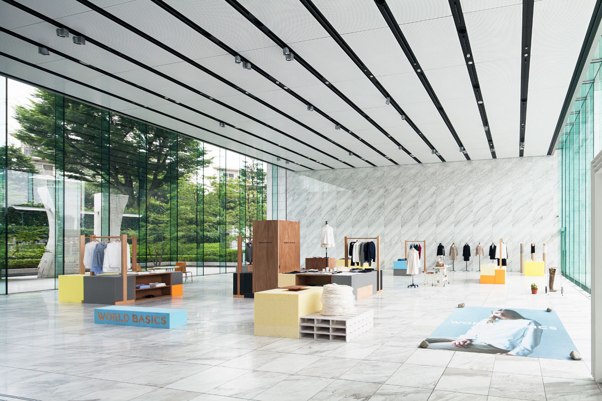 World Basics 2013 AW Exhibition in Tokyo by Jo Nagasaka/Schemata Architects | Yellowtrace.