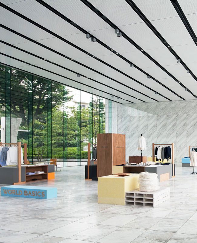 World Basics 2013 AW Exhibition in Tokyo by Jo Nagasaka/Schemata Architects | Yellowtrace.