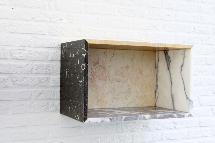 'Marble Box' by Muller Van Severen for Valerie Traan Gallery | Yellowtrace.