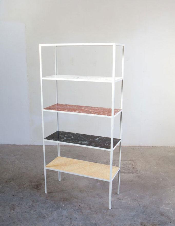 Marble Shelf by Muller Van Severen for Valerie Traan Gallery   Yellowtrace.