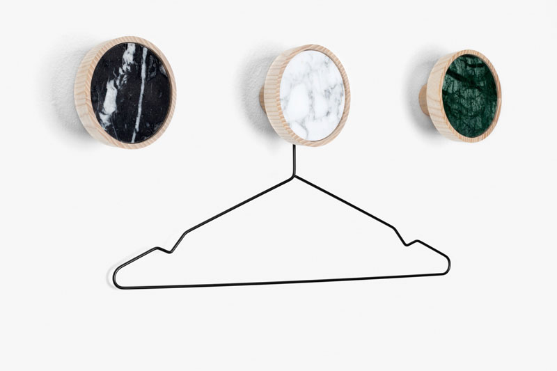 Coat Hooks by Nikolas Kerl | Yellowtrace.