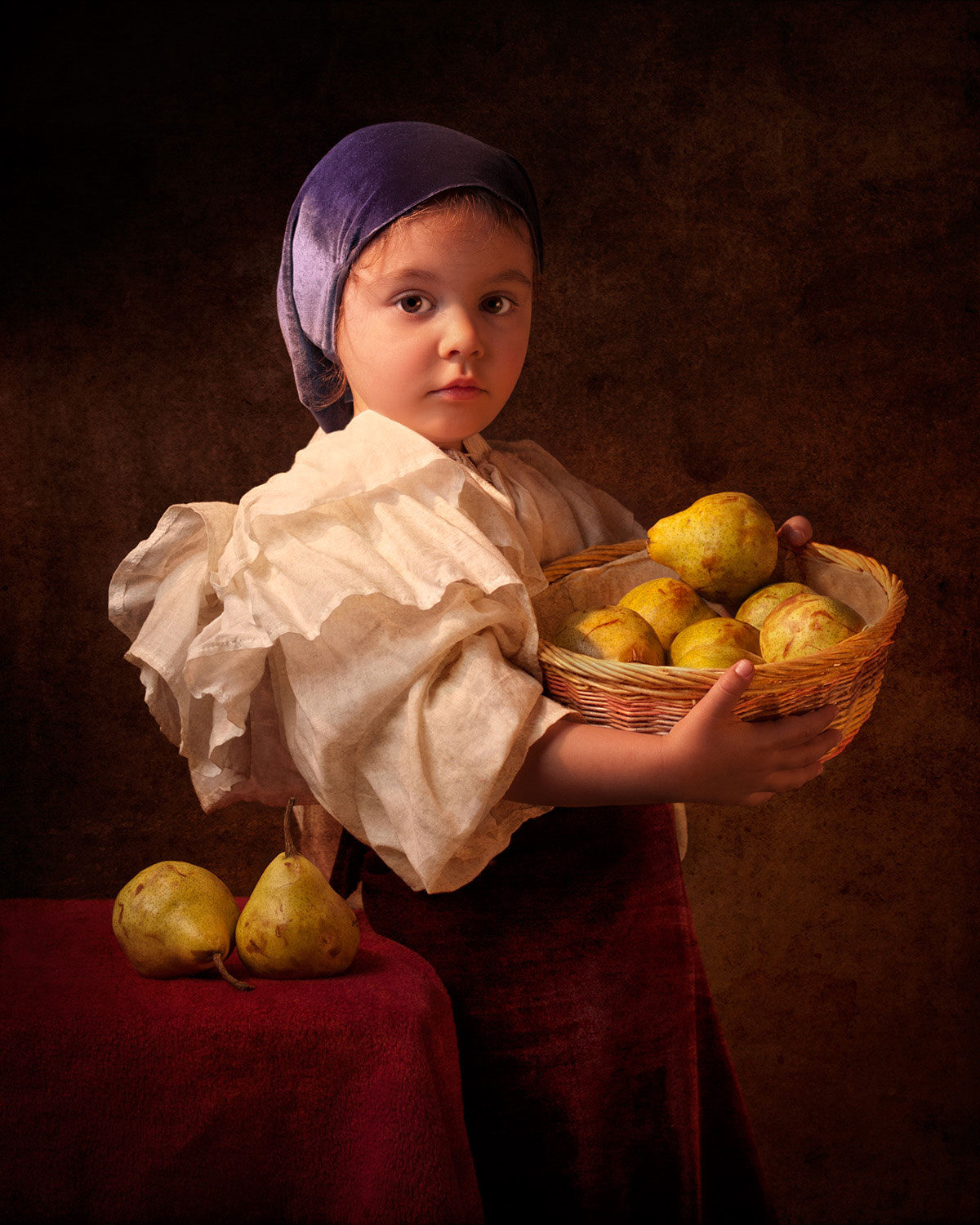 bill gekas portraits of his daughter as master paintings