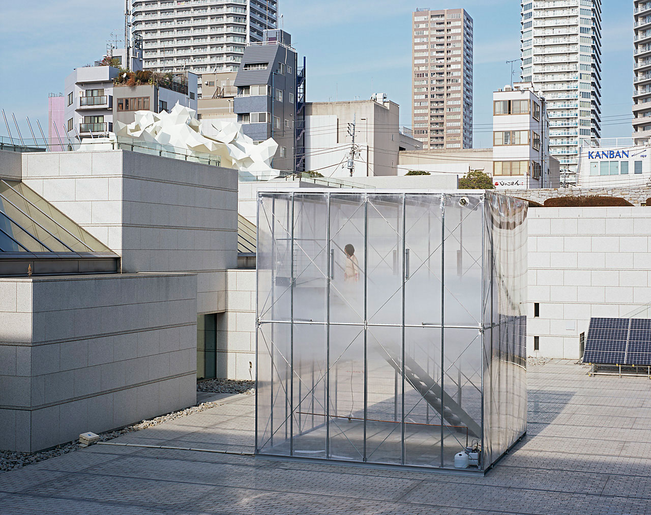 Cloudscapes by Tetsuo Kondo Architects at Museum of Contemporary Art Tokyo | Yellowtrace.