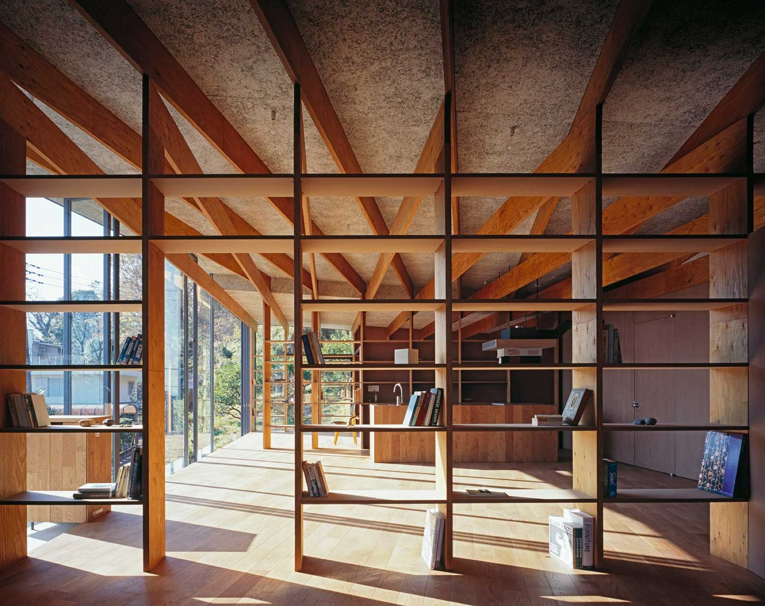 Geo metria by mount fuji architects studio japan for Small wooden structures