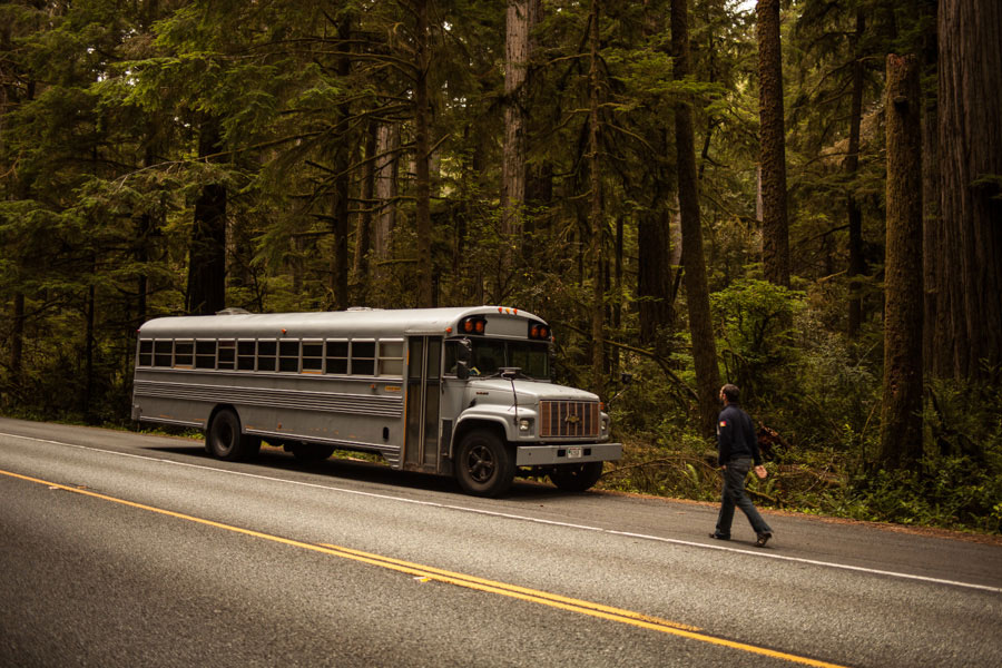 Hank Bought a Bus (then turned into an ultimate mobile home) | Yellowtrace.