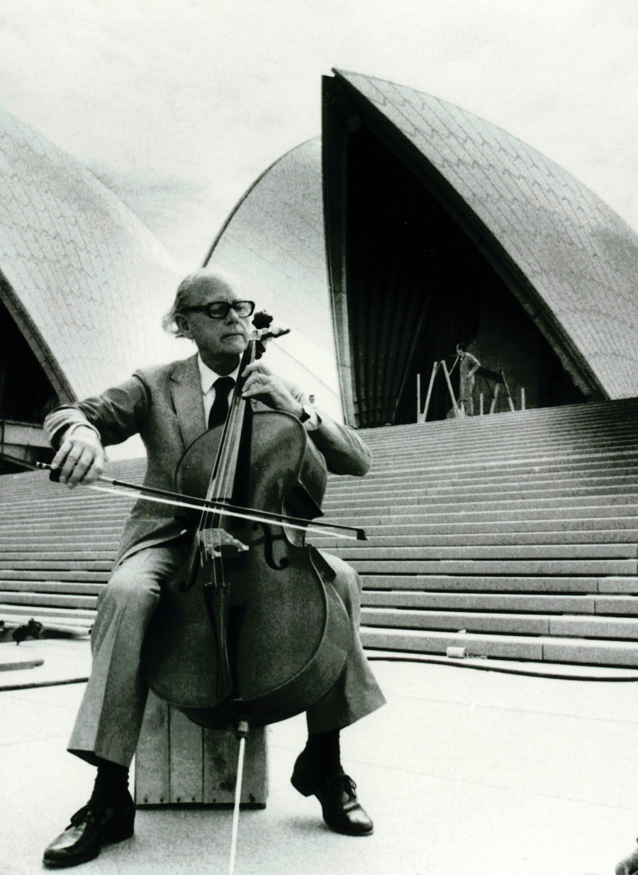 Danish Design at The House, Jorgen Varming in front of Sydney Opera House | Yellowtrace.