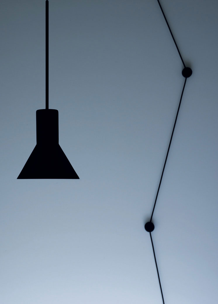 N-EURO Suspension Lamp by Beppe Merlano for D Groppi | Yellowtrace.