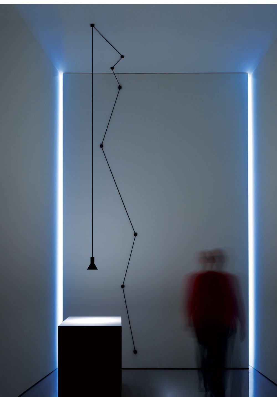 Davide Groppi N-EURO Suspension Lamp | Yellowtrace.