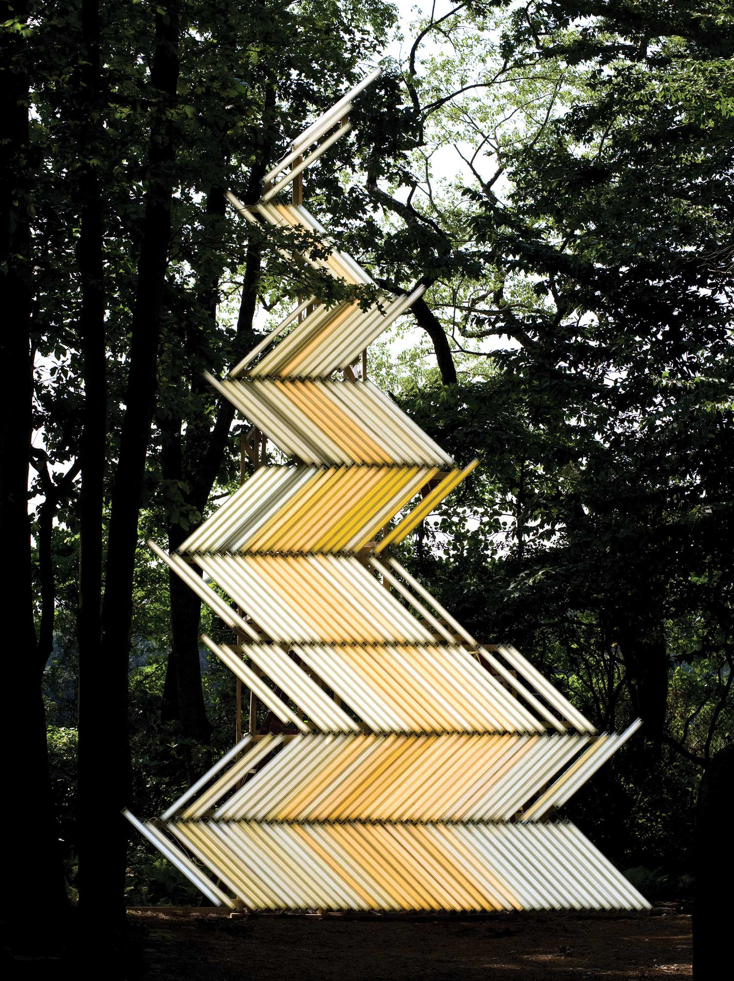 Yochai Matos Light Installations.