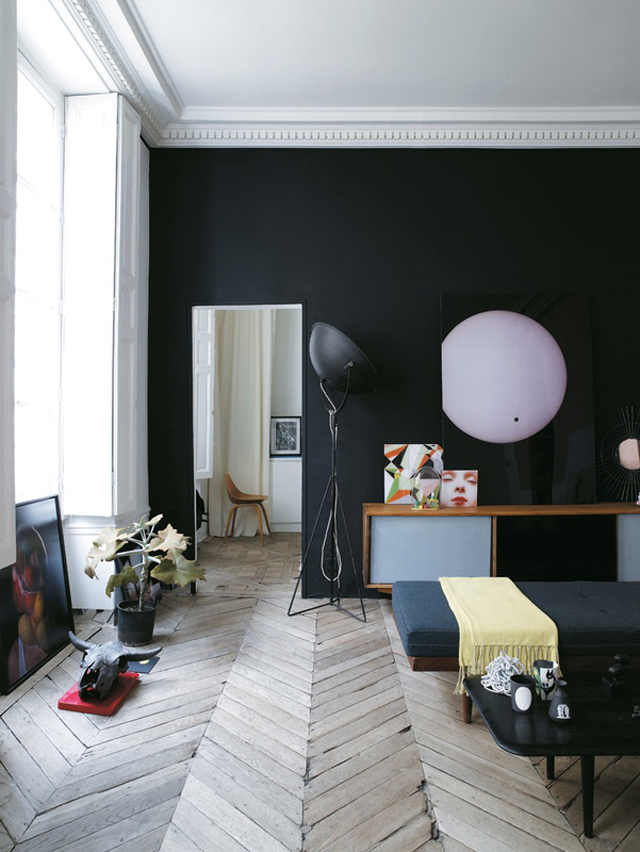 Jean Christophe Aumas' Paris Apartment.