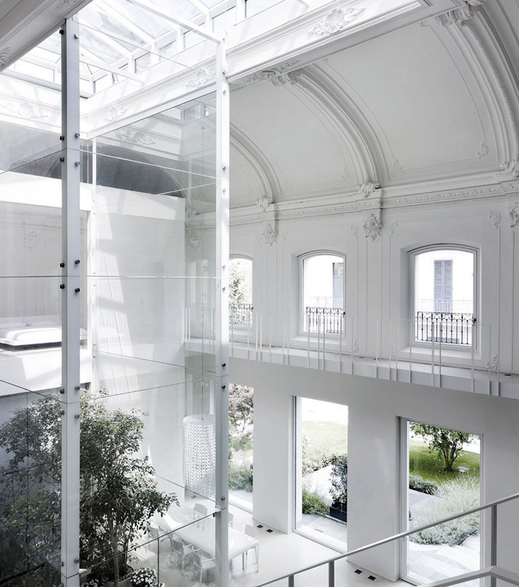 Loft by Lissoni Associati in Monza, Italy | Yellowtrace.