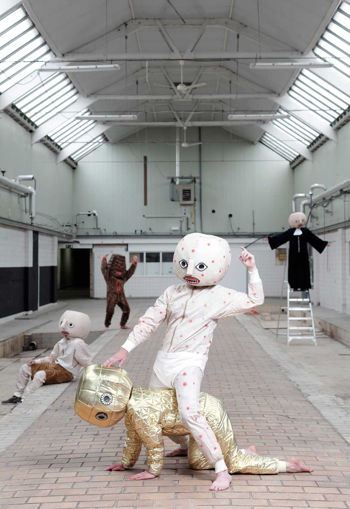 All Costumes, The Second Self Laboratory Jan Pieter Kaptein   Yellowtrace