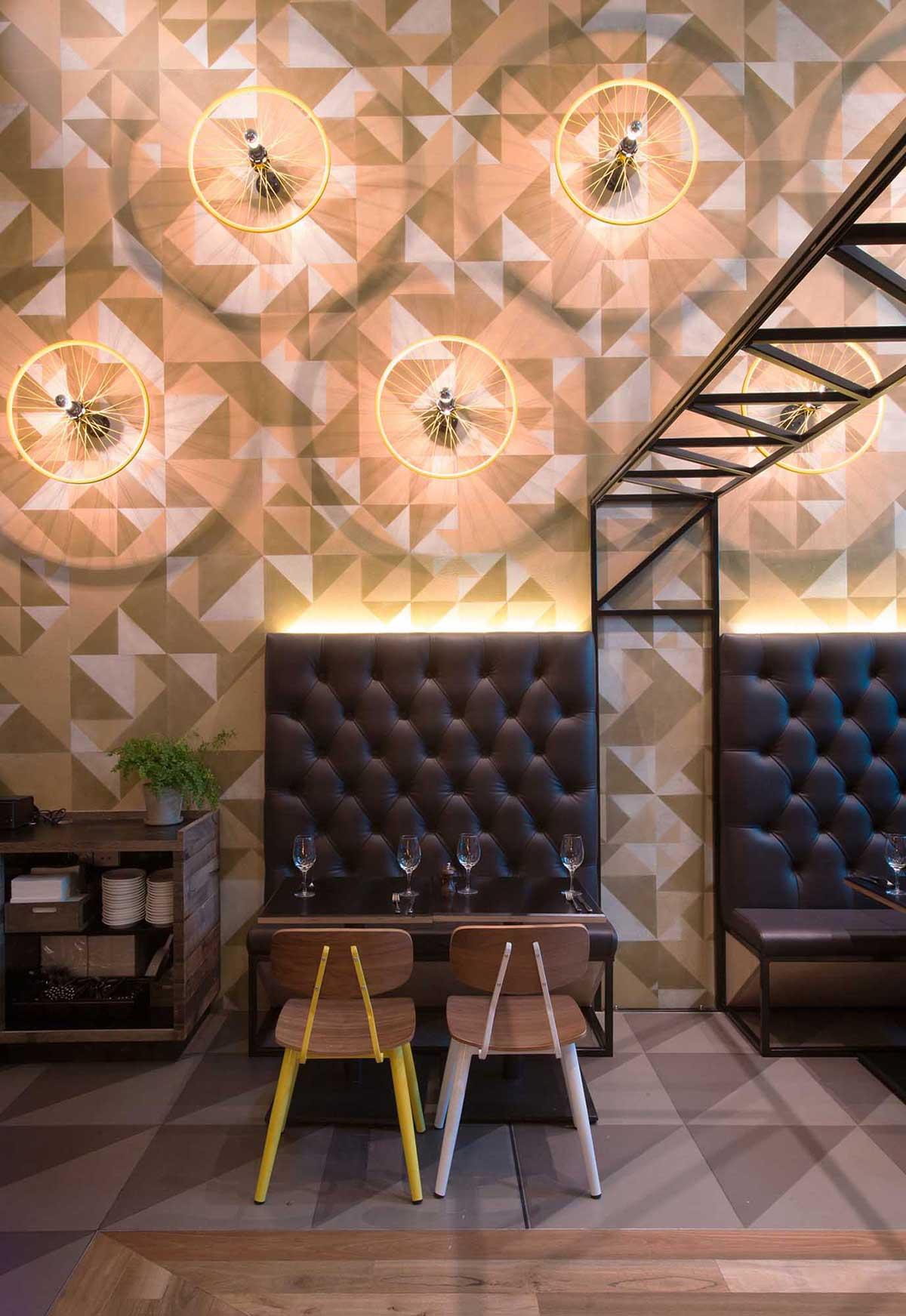Bluetrain Restaurant in Melbourne by Studio Equator   Yellowtrace
