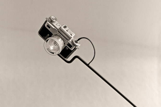 Lamps Made From Old Cameras by Y Studio   Yellowtrace.